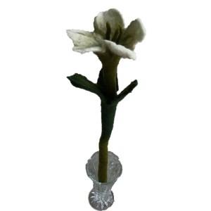 Felt Flower – White