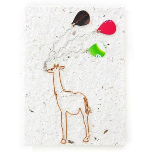Celebration Card – Giraffe