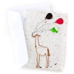 Celebration Card – Giraffe