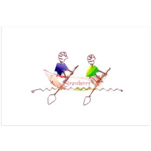 Two Rowers Card