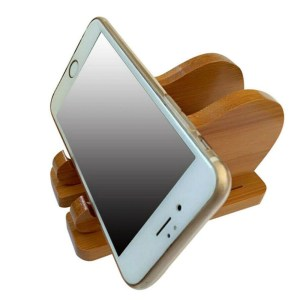 Wooden Figurine – Phone Holder – Elephant