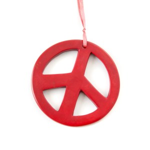 Soapstone Peace Sign
