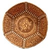 Birch Bark Decorative Plate - Woody Rose