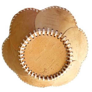 Birch Bark Decorative Plate – Oaknuts