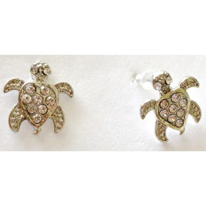 Small Turtle Stud Earrings
