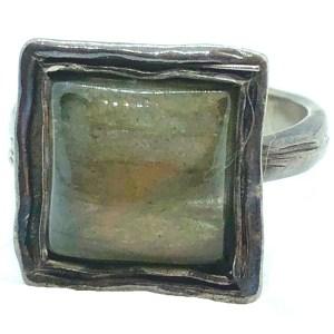 Ring – Sterling Silver Labrodorite
