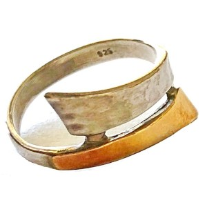 Ring – Sterling Silver and Gold