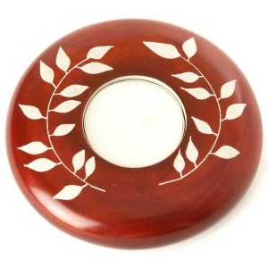 Soapstone Candle Holder – Brown