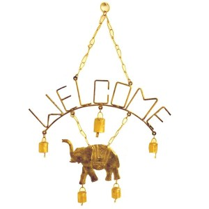 """Welcome"" Wind Chime"