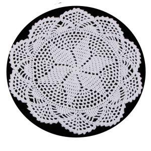 Crochet Cotton Lace Table Placemats – Flower Design