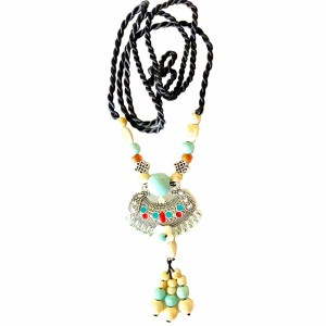 Necklace – Ceramic Beads