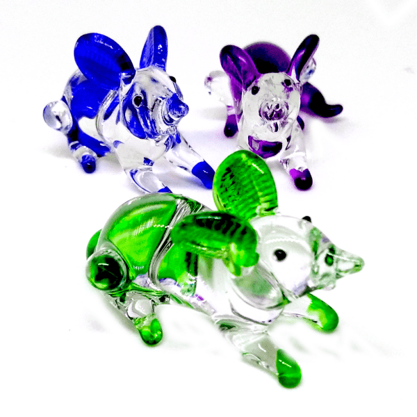 Glass Mouse - Green