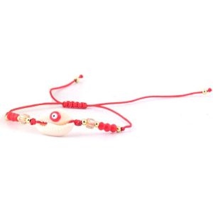 Sea Shell Macrame Bracelet