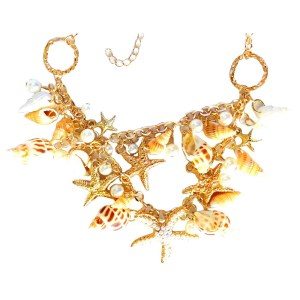 Necklace – Starfish and Sea Shells