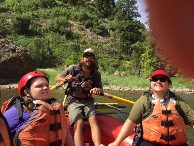 Emmily, Jason, Maryann, an my thumb!