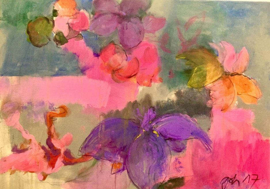 Raum für die Acrylfarben-Space for the acrylic colores- un espacio para los colores acrilios