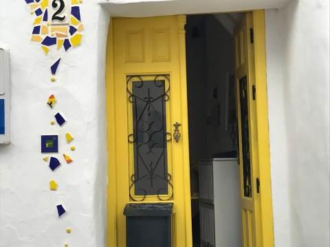 Decorative doors open