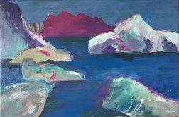 Greenland 2 Acrylic on Canvas 30x20cm