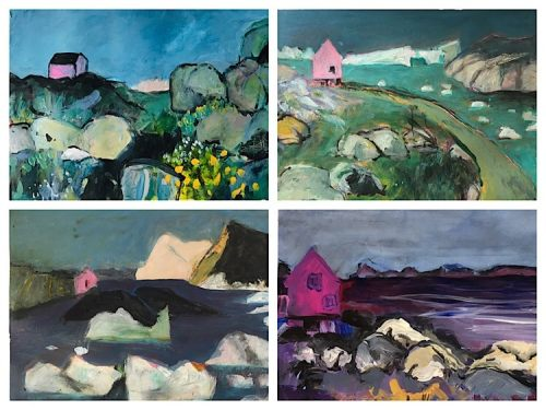 paintings from Greenland