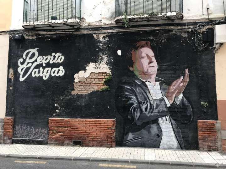 A neighborhood full of vivid art in Málaga