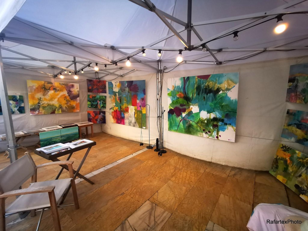 Exhibition tent from Gerrit Oppelland-Hampel on FestiArte, Marbella