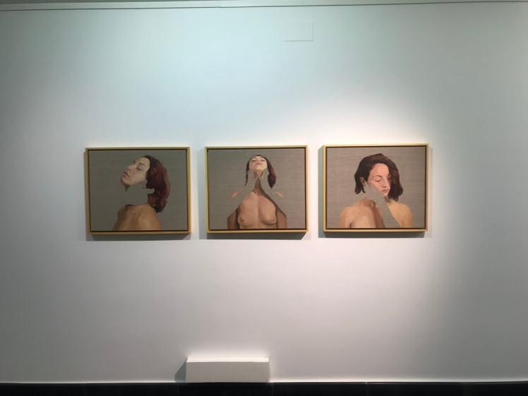 """Photo gallery about the exhibition """"Entre dolor y el nada"""" Pablo Mercado"""