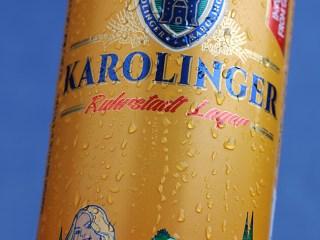 Дизайн упаковки пива «KAROLINGER»