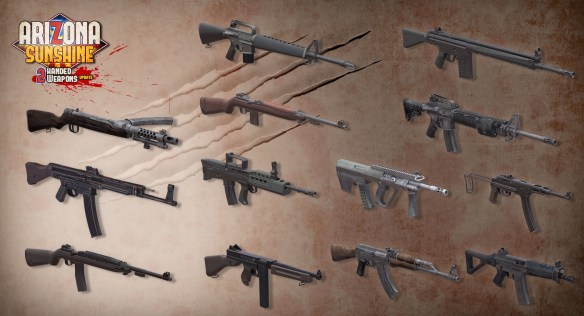 "Arizona Sunshine"" VR Two Handed Weapons Update Coming to PC"