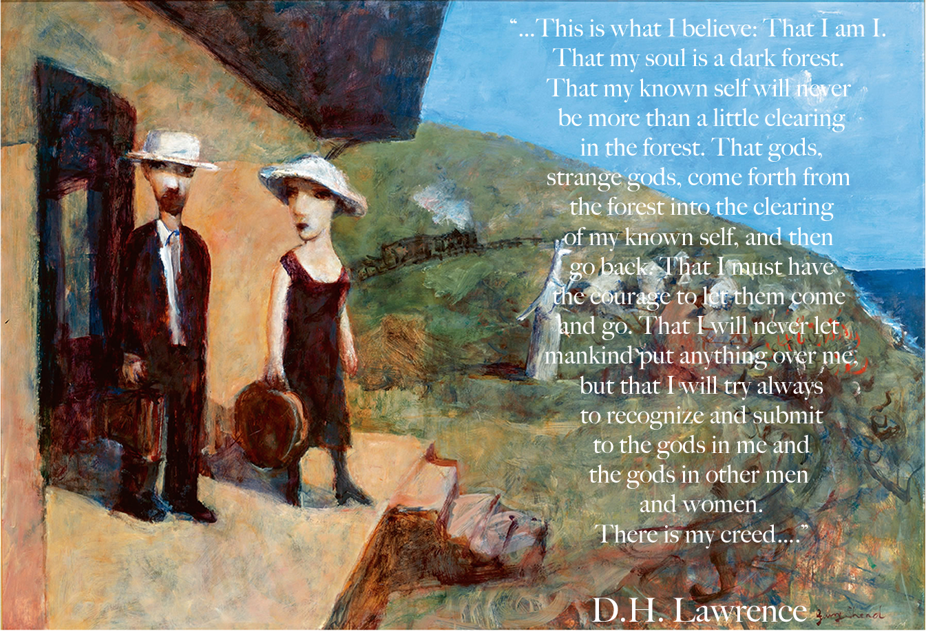 D.H. Lawrence and the Procrastinator's Bible