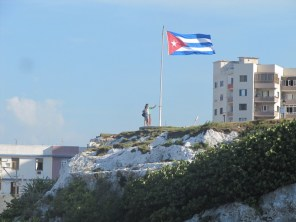 Cuban Flag at Hotel Nacional Havana