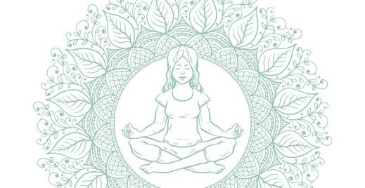 Coloriage gratuit, journée mondiale yoga