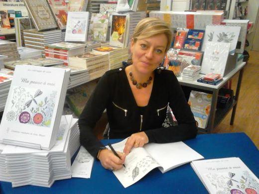 Leen Margot, spécialiste du coloriage pour adultes