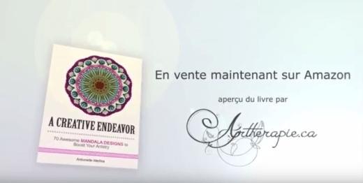 Aperçu vidéo A creative endeavor - 70 mandala par Antionette Medina