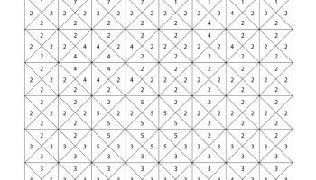 Coloriage Pixel Art Mystère à Numéros Pour Imprimer Artherapieca