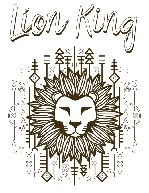 Walt Disney lion king simba roi lion