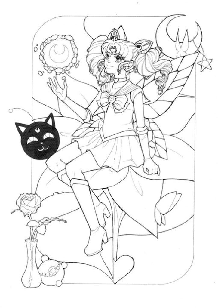 Princesse Sailor Moon Par Dar Chan Imprimer Artherapieca