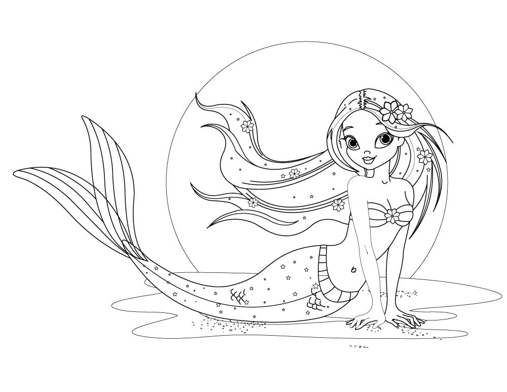 Ariel princesse disney world image à imprimer - Artherapie.ca