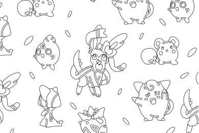 Coloriage pokemon Togepi fairy type