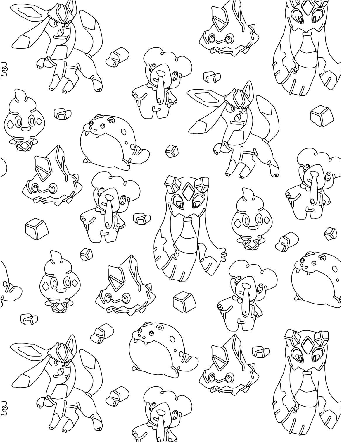Pokemon glace imprimer et colorier - Coloriages pokemon gratuit ...