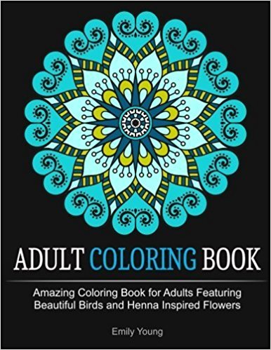 Adult coloring book par Emily Young