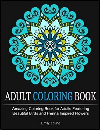 Adult coloring book par Emily Young
