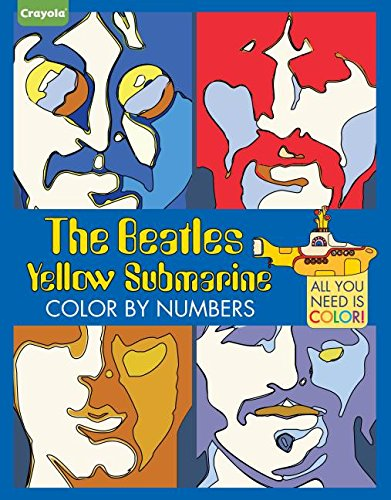 Critique du livre The Beatles Yellow Submarine Color by numbers