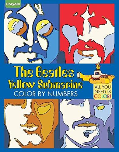 Critique du livre The Beatles Yellow Submarine Color by numbers