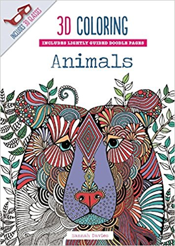 coloriages en 3D Animals par Hannah Davies