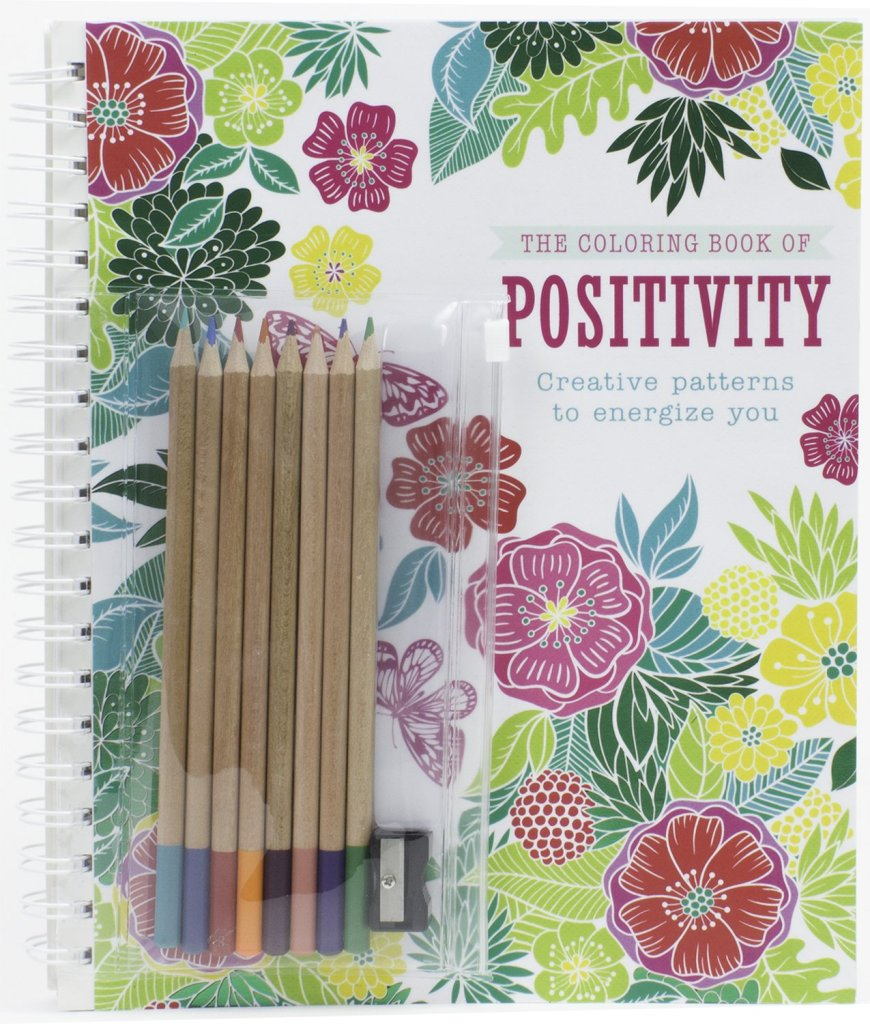 Critique du livre The coloring book of Positivity