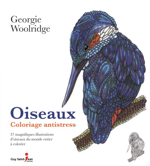 Critique du livre Oiseaux Coloriage antistress (Birds A Mindful Colouring Book)