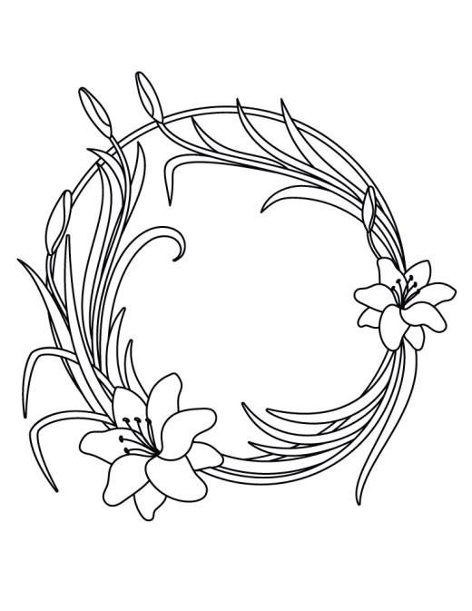 Coloriage Cadre Fleur.Fleurs Archives Page 6 Sur 12 Artherapie Ca