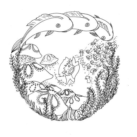 Impression dessin Totoro à imprimer par Chocobo