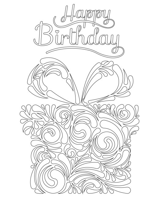 Joyeux anniversaire à notre fondatrice impression dessin cadeau
