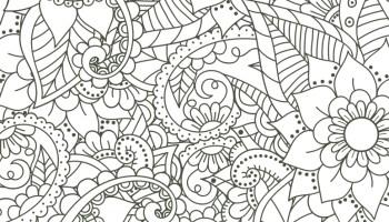 Coloriage Mandala Difficile Fleur.Imprimer Des Coloriages Tres Difficile Motif Fleurs Artherapie Ca